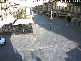 Webcam Rotary Saluzzo Piazza Vineis- Corso Italia (clicca per immagini live)