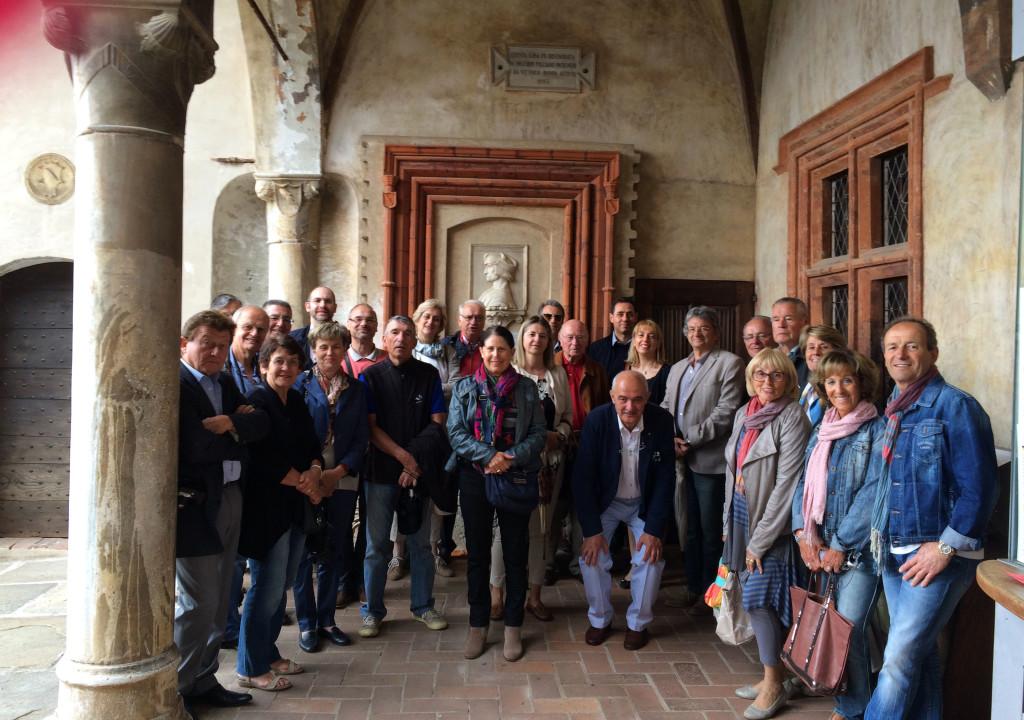 Visita Museo civico di Casa Cavassa con gli amici di Digne
