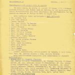 Nascita del rotary Club Saluzzo anno 1956 Bollettino n. 1