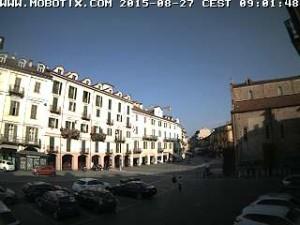 Webcam Rotary Saluzzo - Piazza Risorgimento - Corso Italia (clicca per immagini live)